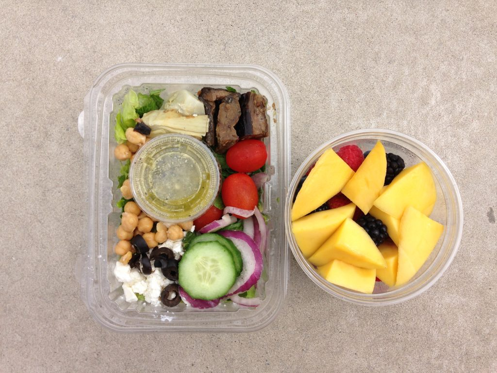 Smarten up your lunch break with these three healthy ideas element ellens lunch is packed with colorful whole foods forumfinder Images